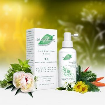 Picture of Nativa 33 Boosting Tonic for hair and scalp
