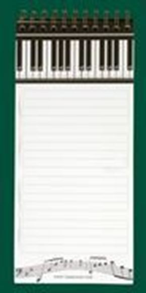 Picture of Magnetic List Pad - Piano Keys - DP205
