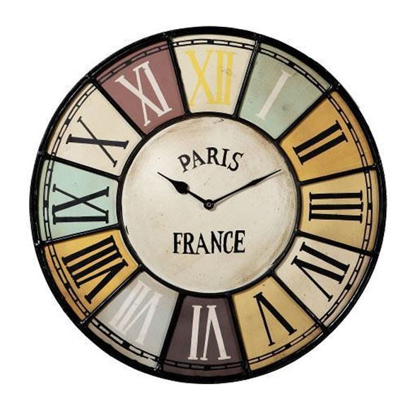 Picture of Clock Wall Paris 45cm - IH019