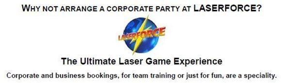Picture of Arrange your party at Laserforce Hawkes Bay