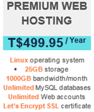 Picture of Premium Web Hosting - Annual Offer