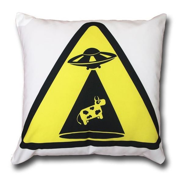 Picture of CUSHION COVER ALIEN V COW 45X45 - LC001