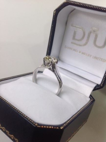 Picture of Diamond Solitaire Ring
