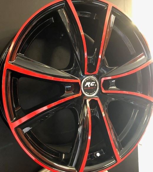 Picture of AW4001 Set of Car Wheels - 17 x 7.5