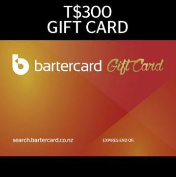 Picture of T$300 Bartercard Gift Card