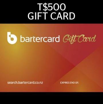 Picture of T$500 Bartercard Gift Card