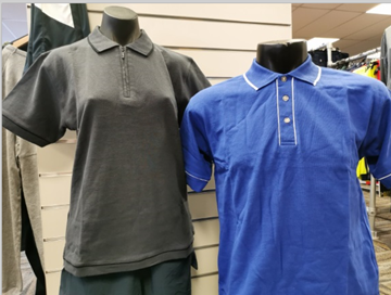 Picture of Mens Retro Waffle Polo - BULK DEAL