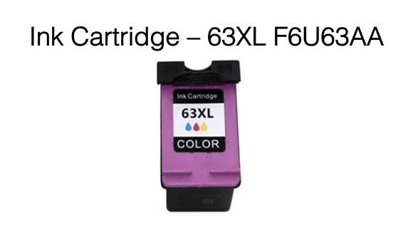Picture of 63XL F6U63AA Premium Compatible Ink Cartridge