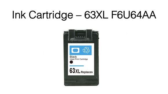 Picture of 63XL F6U64AA Premium Compatible Ink Cartridge