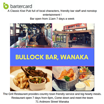 Picture of Bullock Bar - Wanaka