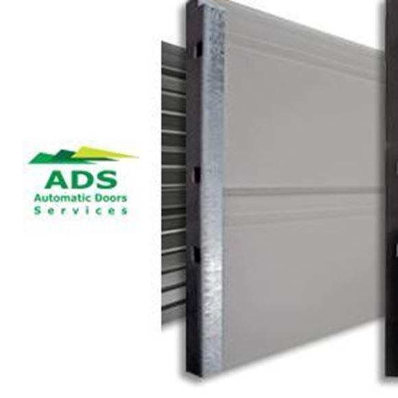 Picture of Double Sectional Garage Door - with Merlin MyQ Motor