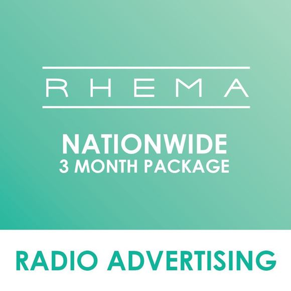 Picture of Nationwide Rhema 3 Months Package.