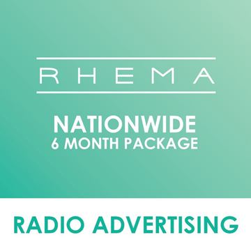 Picture of Nationwide Rhema 6 Months Package.