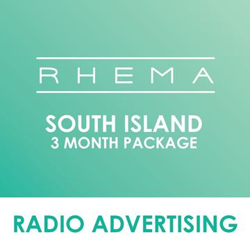 Picture of South Island Rhema 3 Months Package.