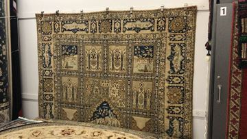 Picture of Antique Handmade Persian Rug - Over 120 Years Old
