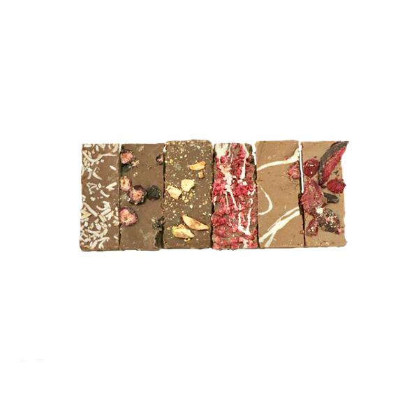 Picture of Ginger and Walnut Chocolate Tablette