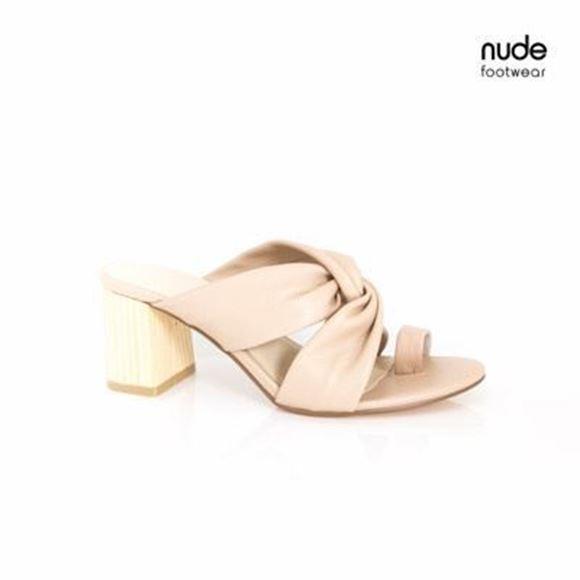 Picture of Nude Footwear - Ezara - Nude