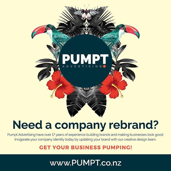 Picture of Are you Pumpt for a Company Rebrand or New Logo?