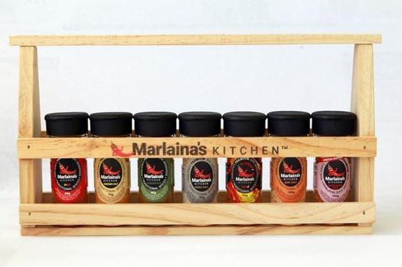 Picture of Marlaina's Jerk Seasoning Spice Rack - 7 Holder