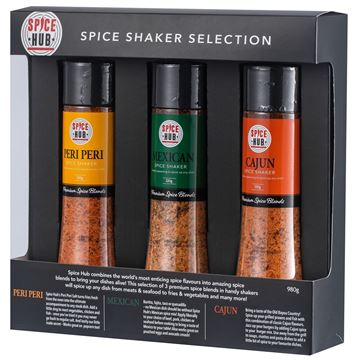 Picture of Spicehub BBQ Shaker Gift Pack 980g - Carton of 6 (GPSH002)